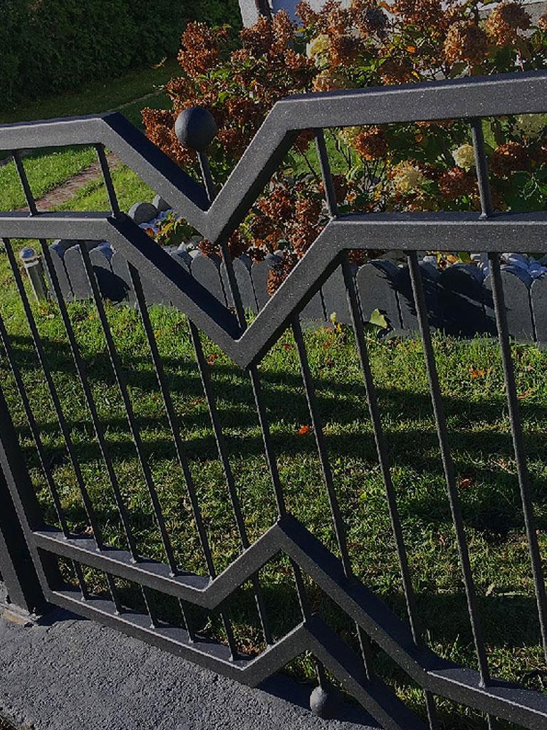 Md Zaun Metallzaune Aus Polen Modern Metall Zaune Und